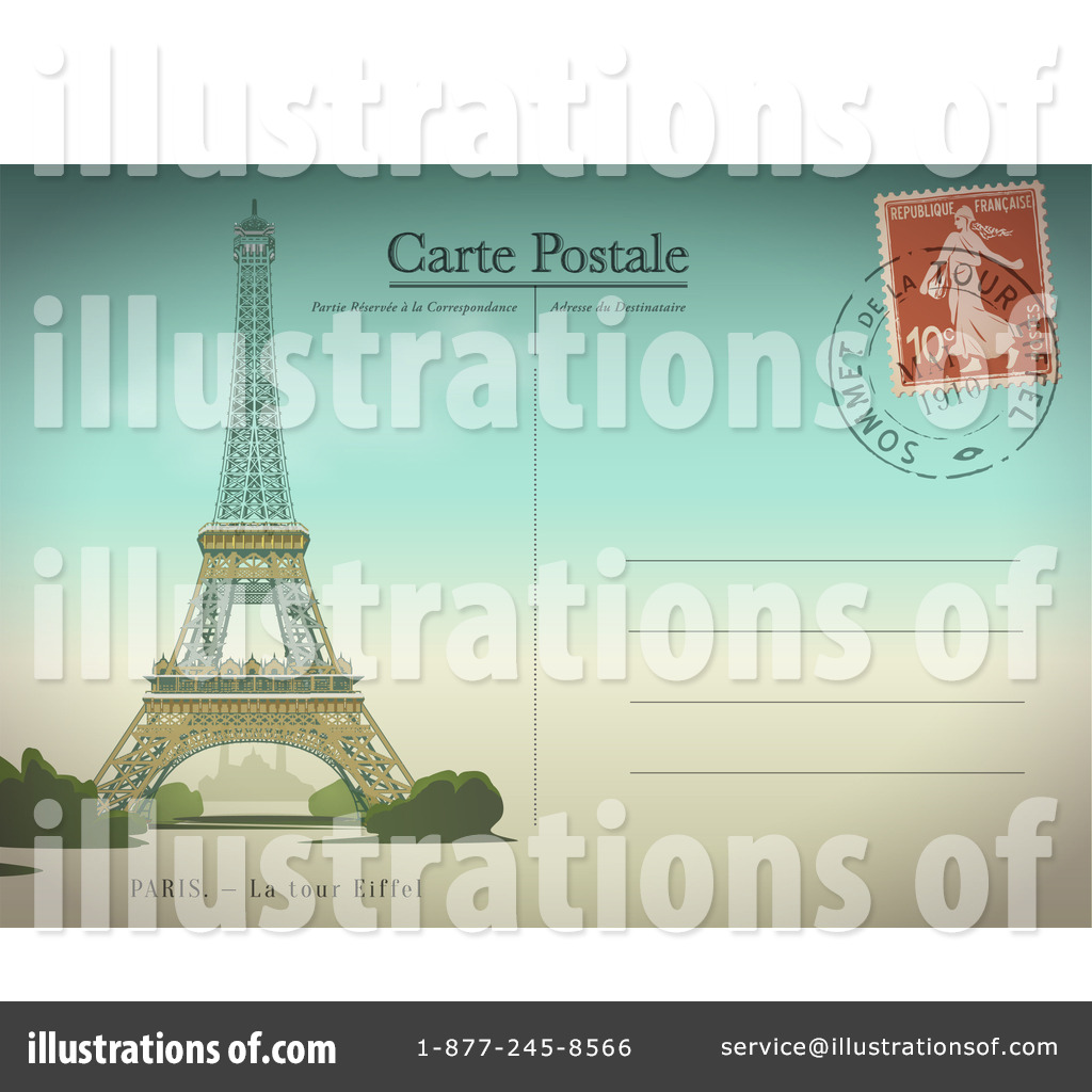 Royalty Free  Rf  Paris Clipart Illustration By Eugene   Stock Sample