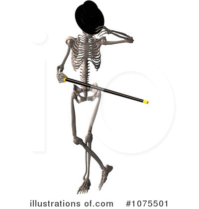 Skeleton Clipart  1075501 By Ralf61   Royalty Free  Rf  Stock
