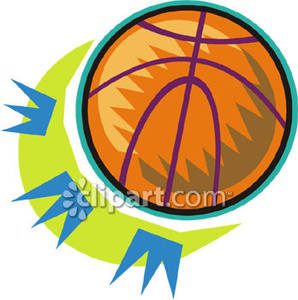 Basketball Colorful