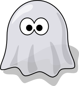 Cartoon Ghost Clip Art At Clker Com   Vector Clip Art Online Royalty
