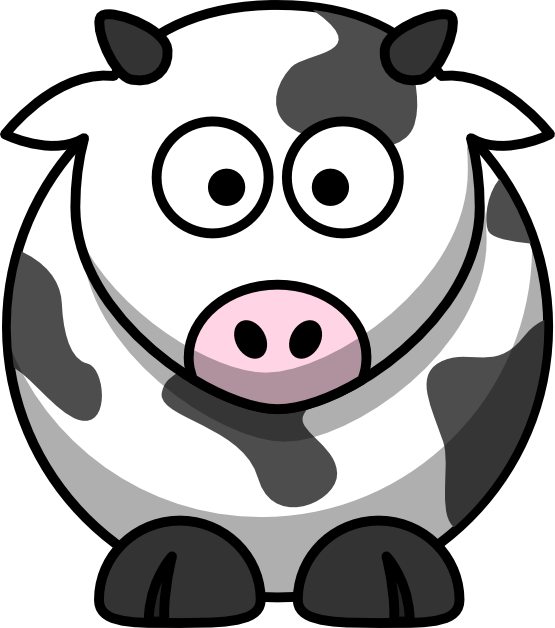 Cow Coloring Book Colouring Christmas Xmas Stuffed Animal 555px Png