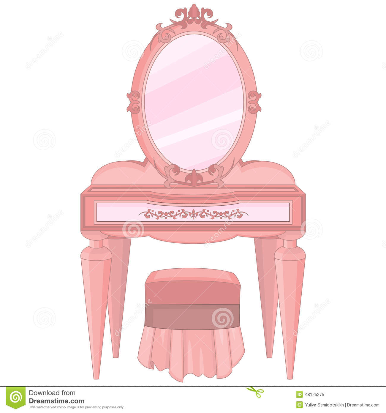 princess mirror clipart - photo #12