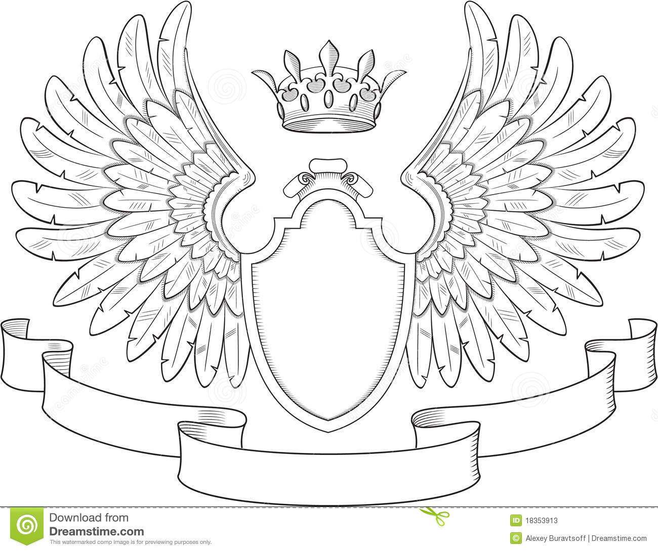 Blank Coat Of Arms Template Family Crest Png