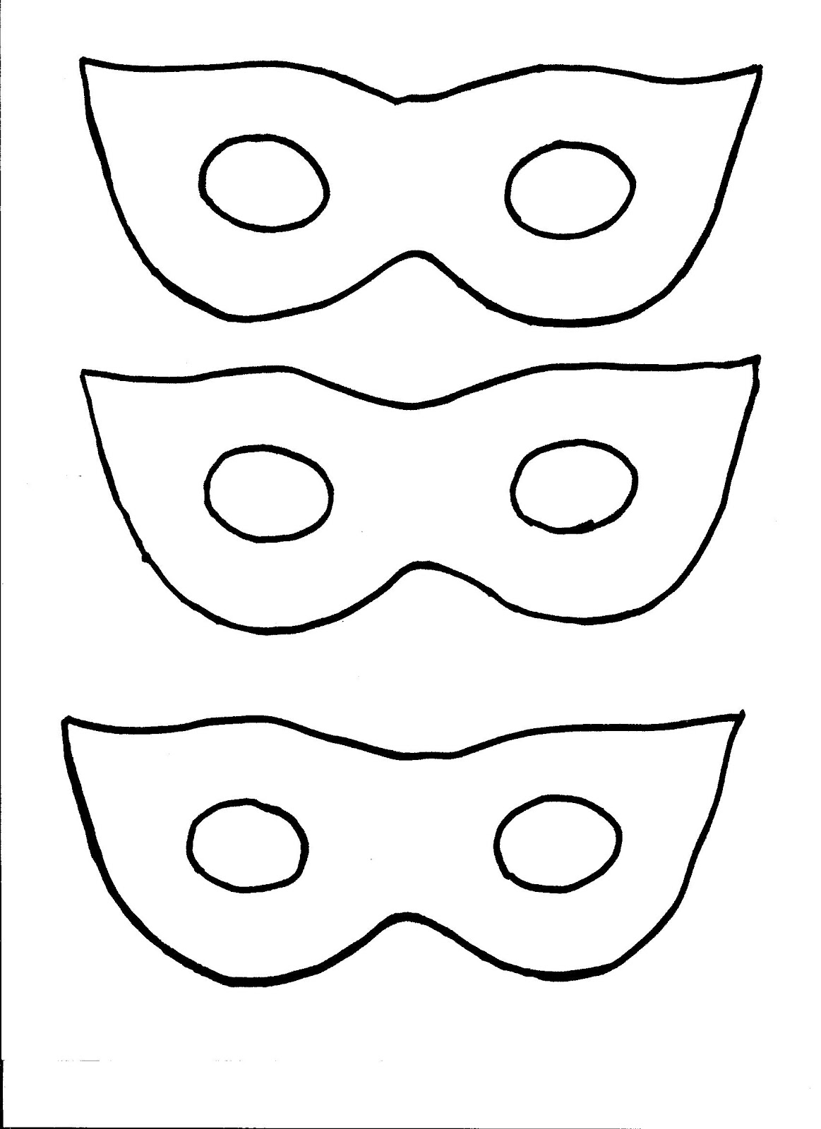 Nana Brown S  Kids Craft   Masquerade Masks