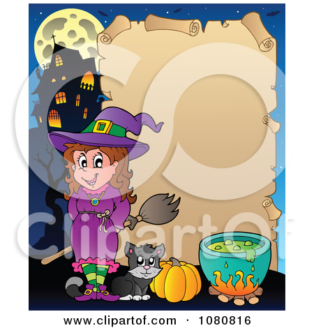 Royalty Free Halloween Witch Illustrations By Visekart  1