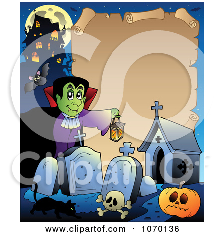 Royalty Free  Rf  Clipart Of Halloween Frames Illustrations Vector