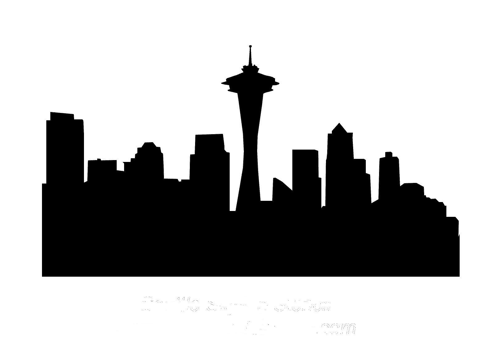 seattle skyline clipart clipart suggest skyline clip art silhouette skyline clip art silhouette