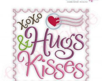 Xoxo Hugs And Kisses Hugs And Kisses Xoxo Stamp