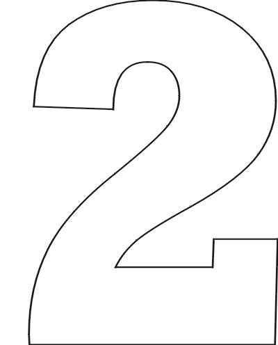 Как нарисовать красиво цифру один