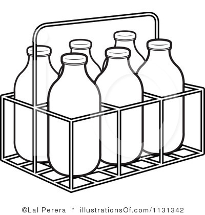Milk Black And White Clipart - Clipart Suggest