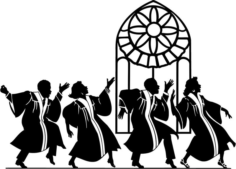 African American Gospel Choir Clip Art