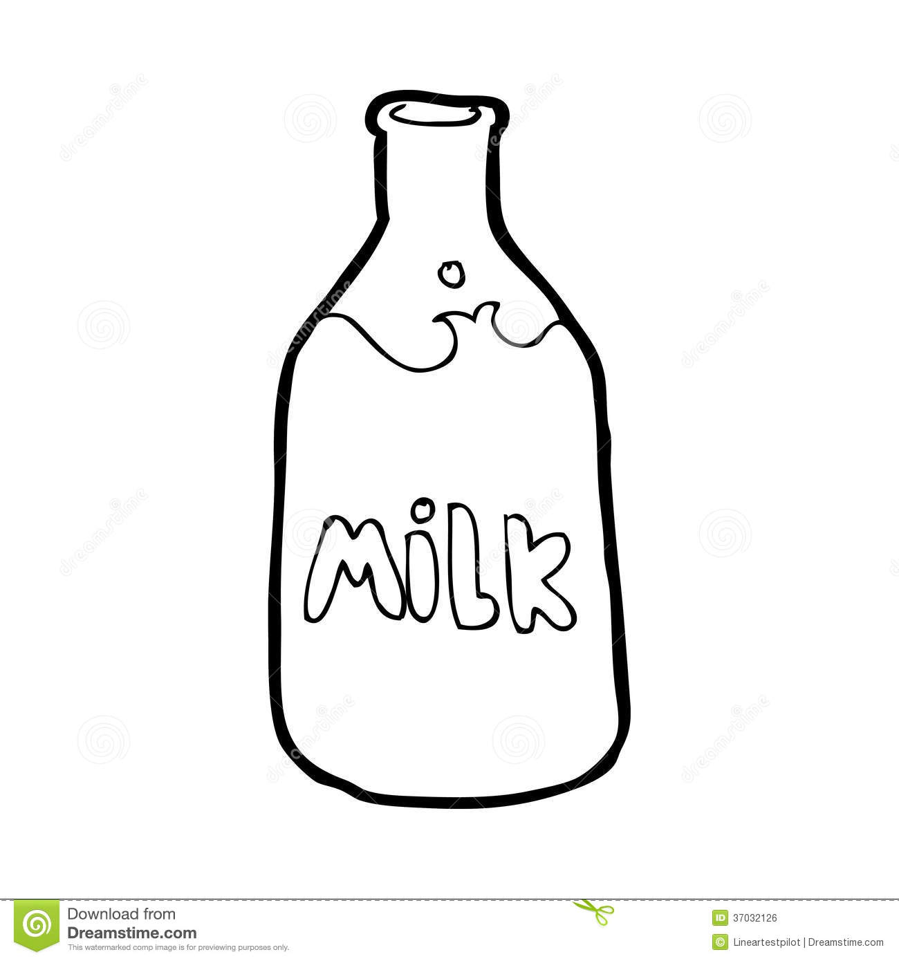 clipart of a glass of milk - photo #32