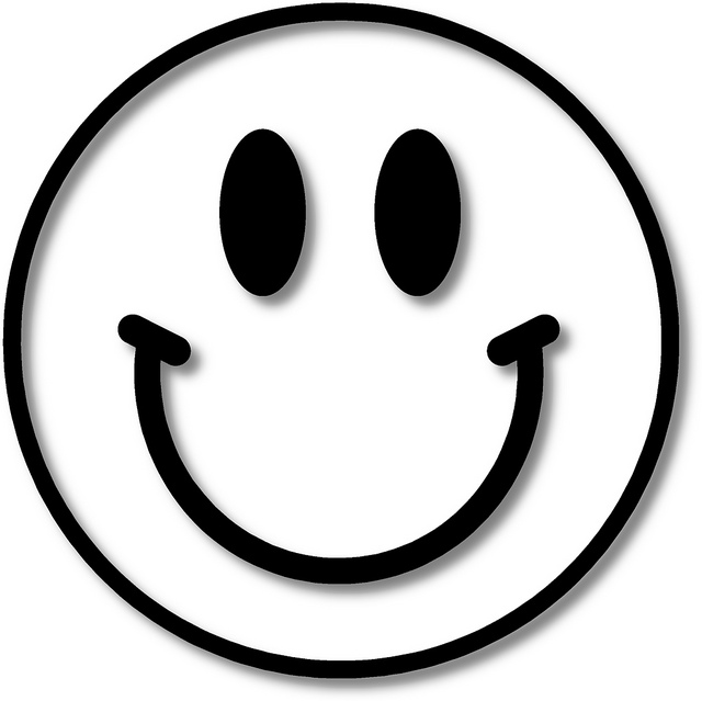Straight Line Smiley Face Clip Art : Face black and white clipart suggest
