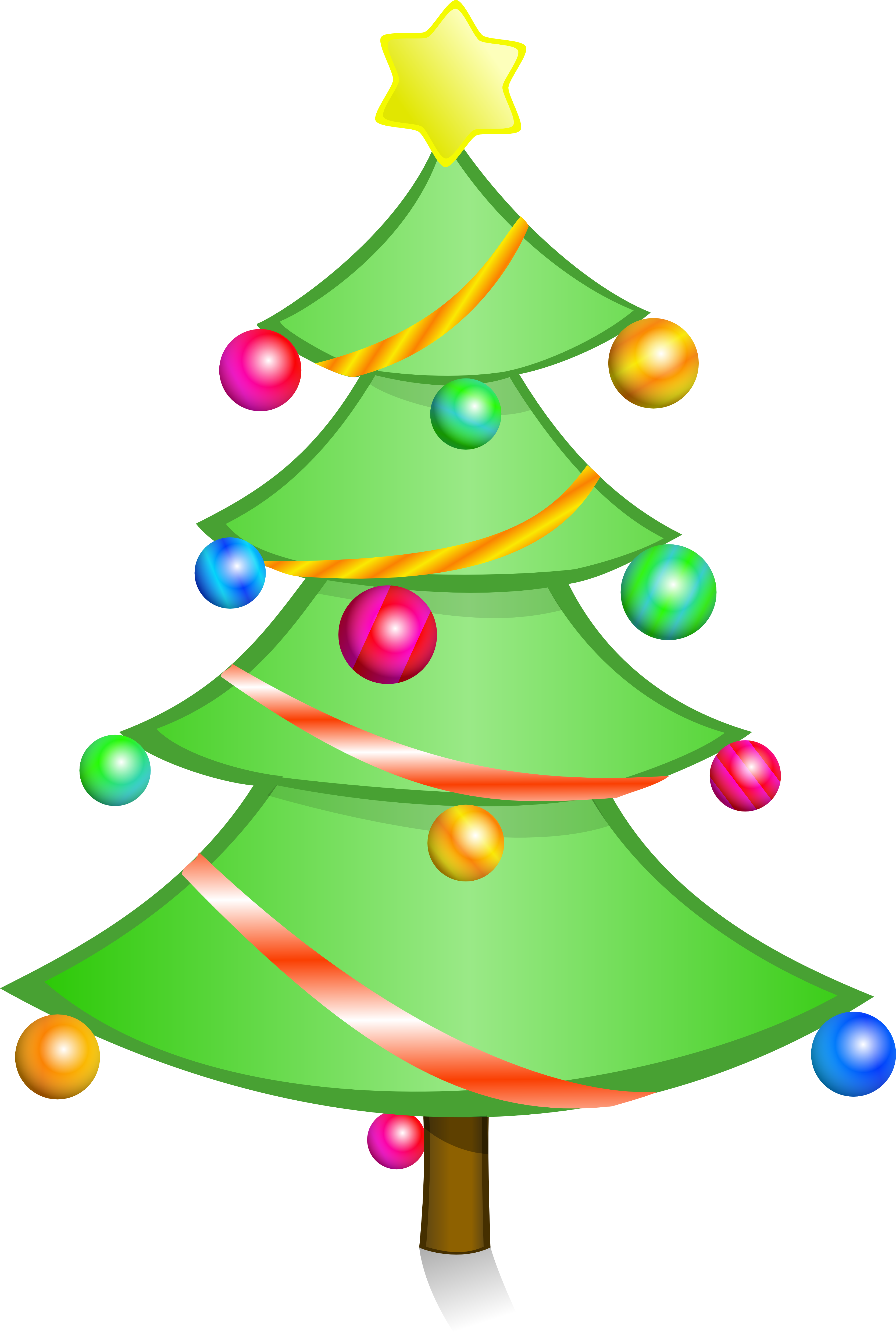 Christmas Tree Clipart Benbois Christmas Tree Xmas 3333px Png