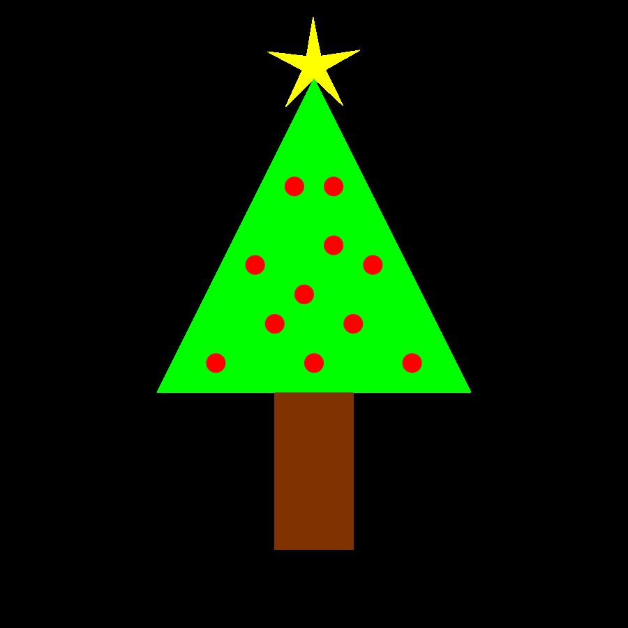 Small Christmas Tree Clipart - Clipart Kid