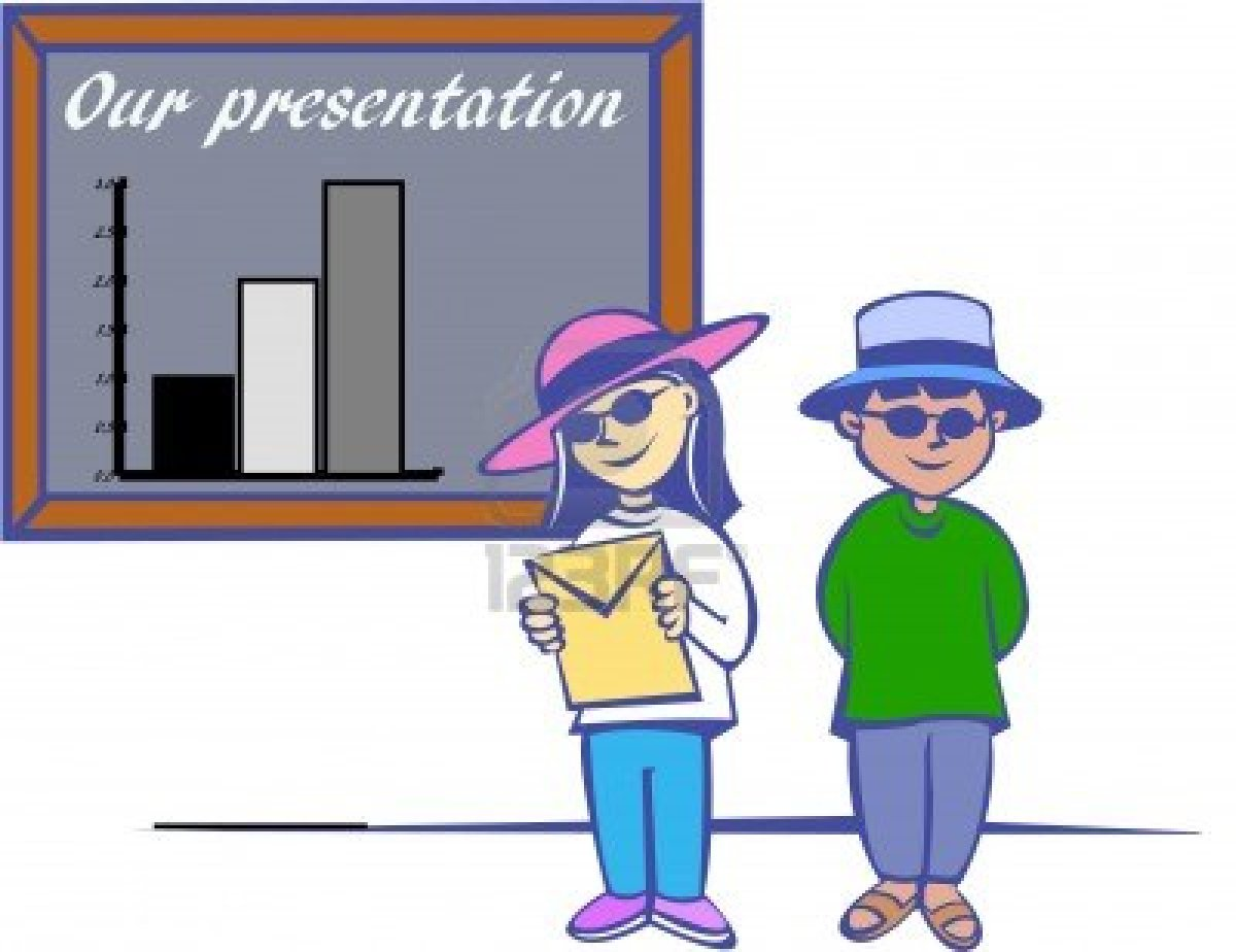 Student Giving Presentation Clipart - Clipart Suggest