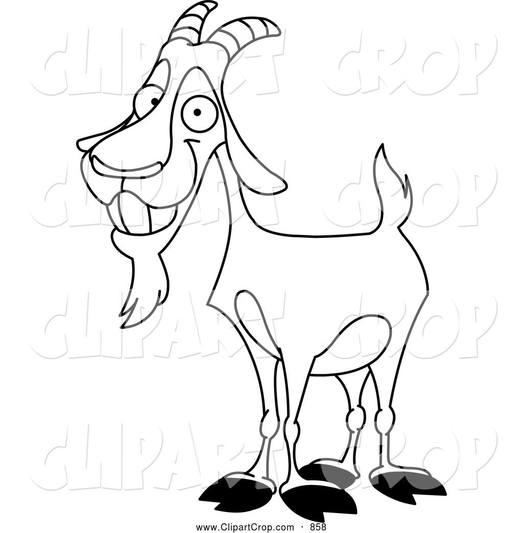 Black And White Goat C...