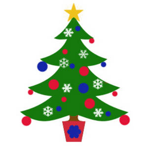 Small Christmas Tree Clipart - Clipart Kid