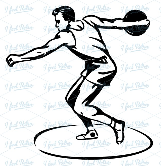 Discus Throw Clipart - Clipart Suggest