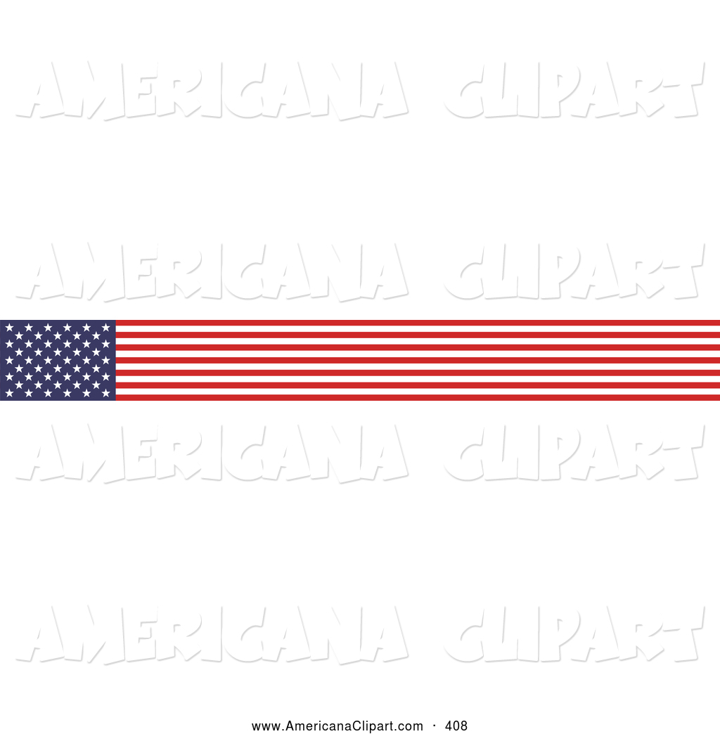 Fall Flag Banner Clipart Americana Vector Clip Art Of A