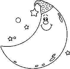 Full Moon Clipart Black And White   Clipart Panda   Free Clipart