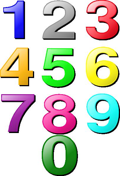 Clip Art Numbers Clip Art clip art numbers 1 10 clipart kid png