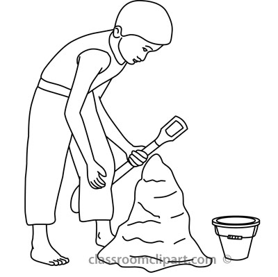 Sand Black And White Clipart - Clipart Kid