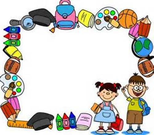 Back To School Border Clipart - Clipart Kid