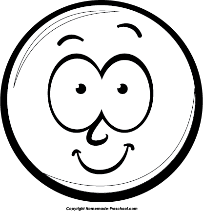 Smiley Face Clipart Black And White Face Clip Art Black And Whiterofl