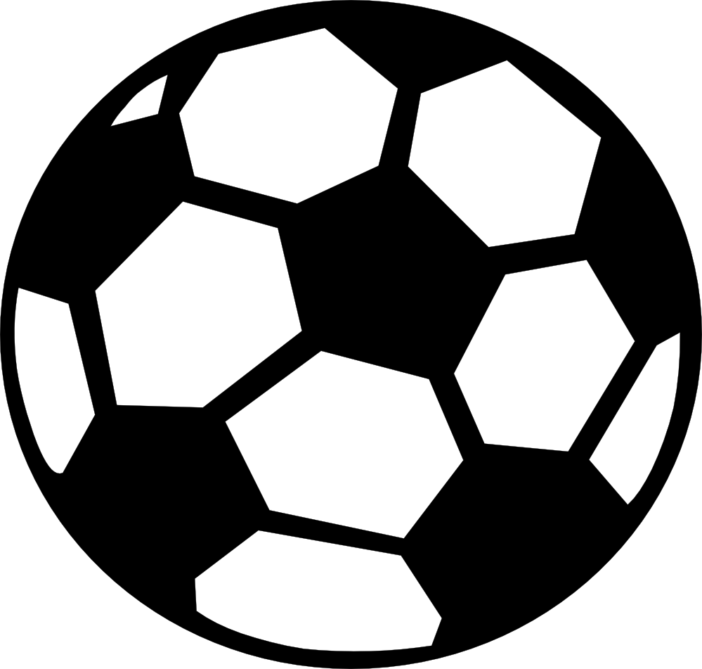 Soccer Ball Clipart Black And White 9tz6bqnte Png