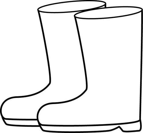 Clip Art Boots Clip Art boots free clipart kid umbrella black and white rain png