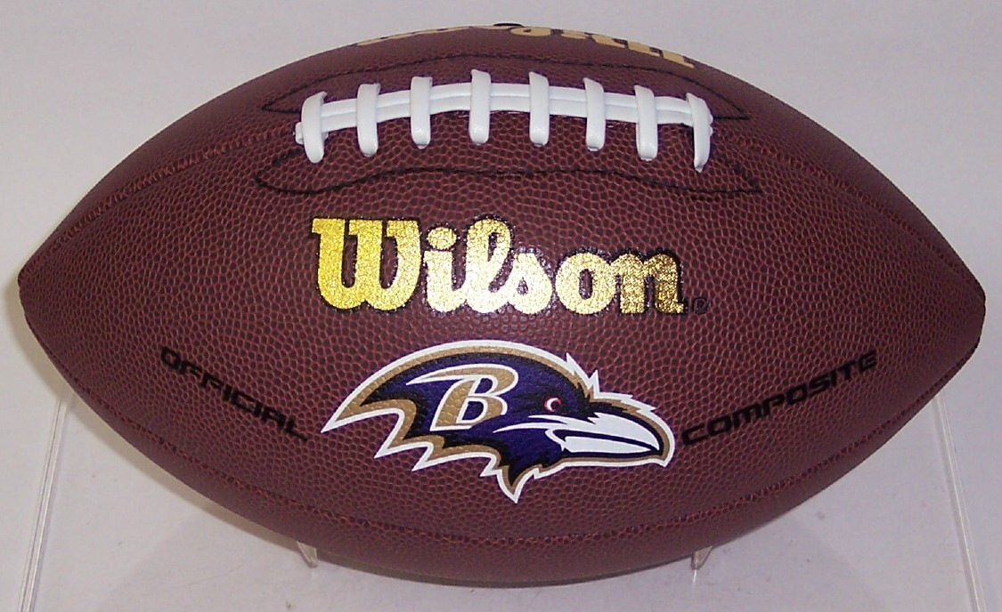 Baltimore Ravens Wilson F1748 Composite Leather Full Size Football