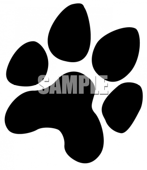 Bobcat Paw Print Clipart Welcome To Bingo Slot Machines