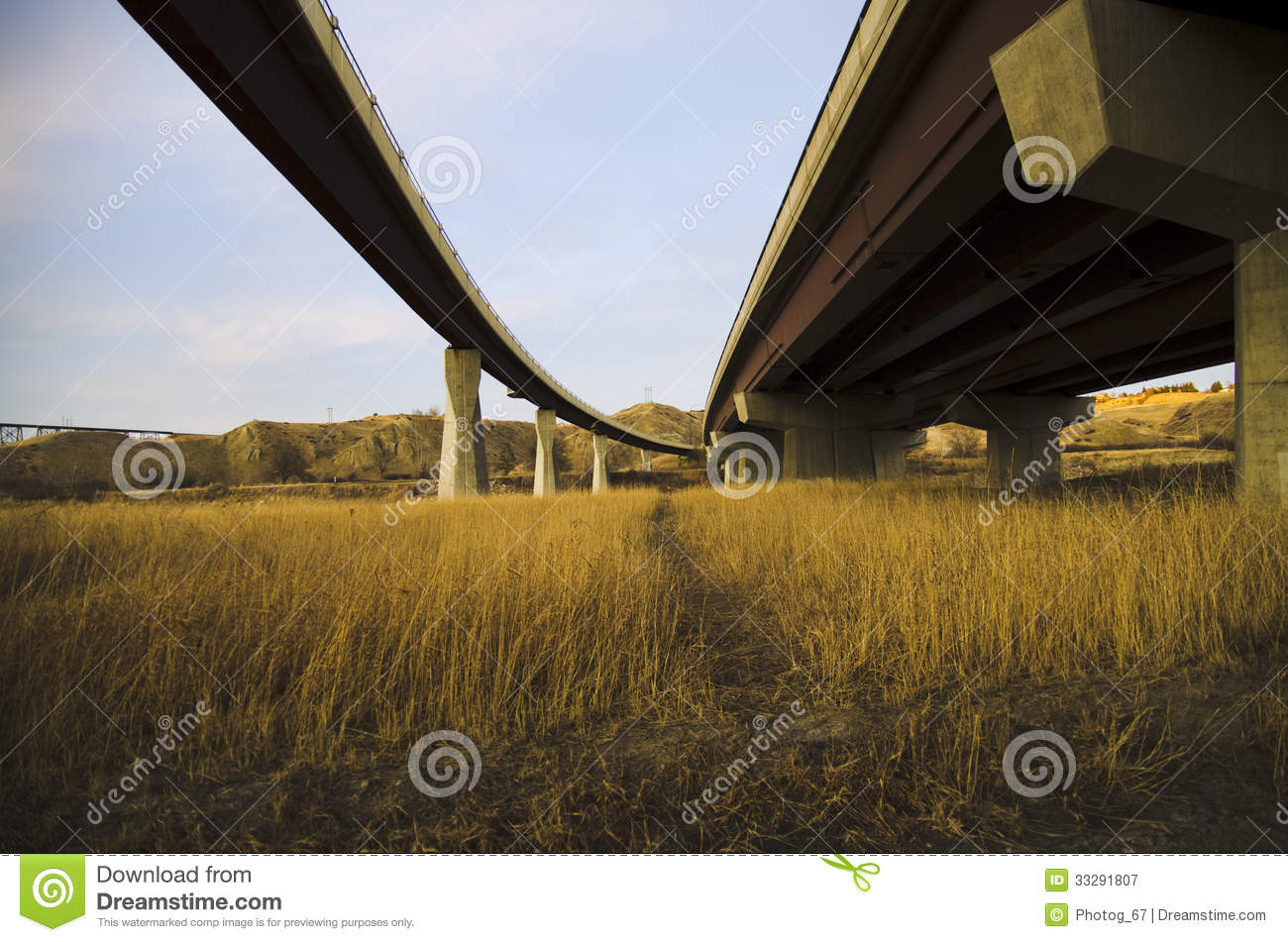 Bridges In Lethbridge Alberta  One Of The Bridges Is A Pedestrian And