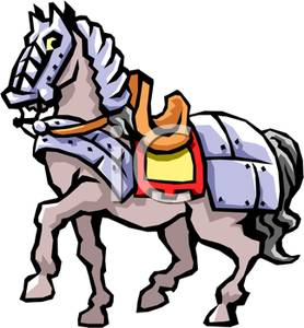 Knight On Horse Clipart - Clipart Suggest