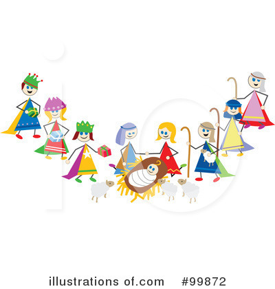 Nativity Clip Art Black And White Image Search Results