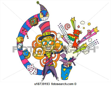 Performing Tricks  Fotosearch   Search Clipart Illustration Fine