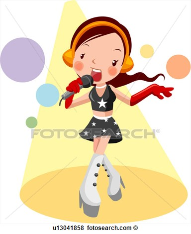 Song Show Singing Full Age Entertainer U13041858   Search Clipart
