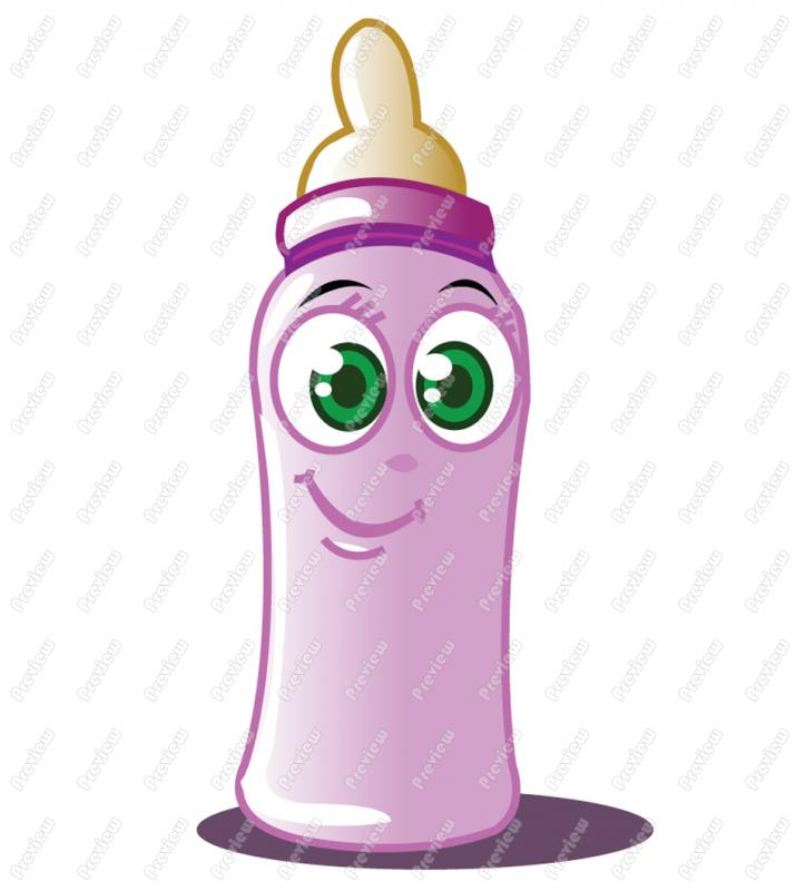 Girl Baby Bottle Clipart - Clipart Suggest