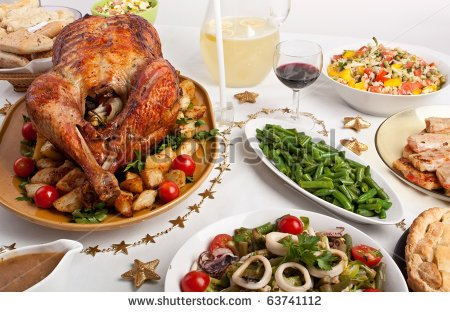 Christmas Dinner Stock Photos Illustrations And Vector Art