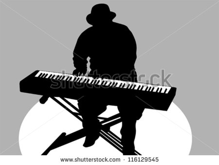 Keyboard Player Stock Photos Illustrations And Vector Art