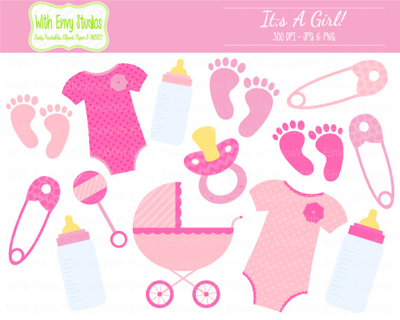 Girl Baby Bottle Clipart Suggest