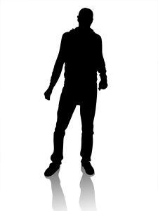 Person Silhouette Clipart - Clipart Kid