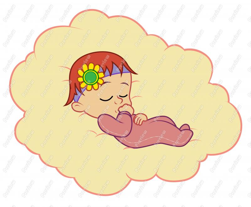 Sleeping Baby Cartoon   Lol Rofl Com