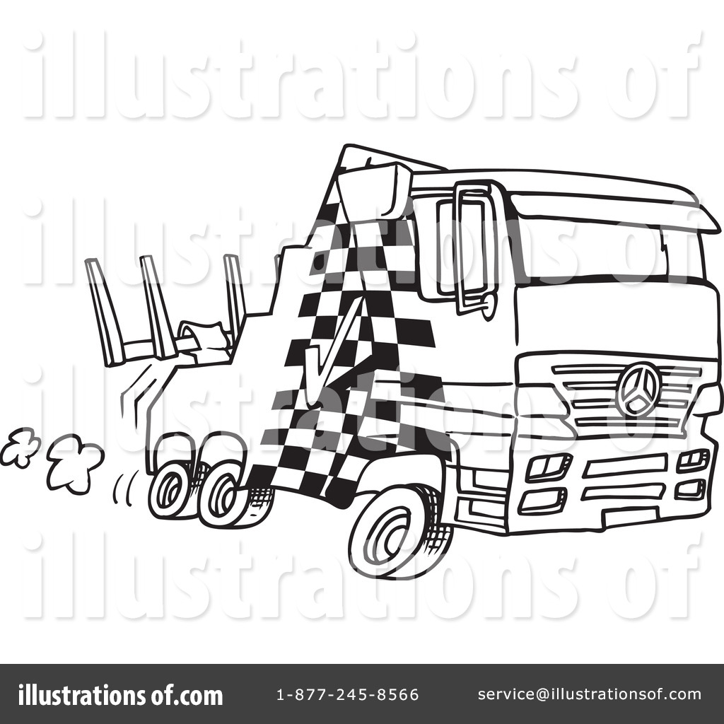 Flatbed Tow Truck Clipart - Clipart Kid