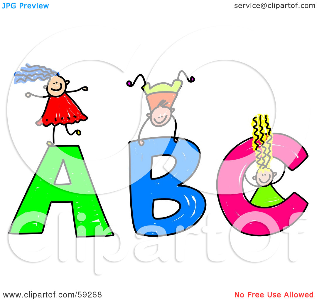 Children Playing With Toys Clipart Alphabet Clipart For Kids