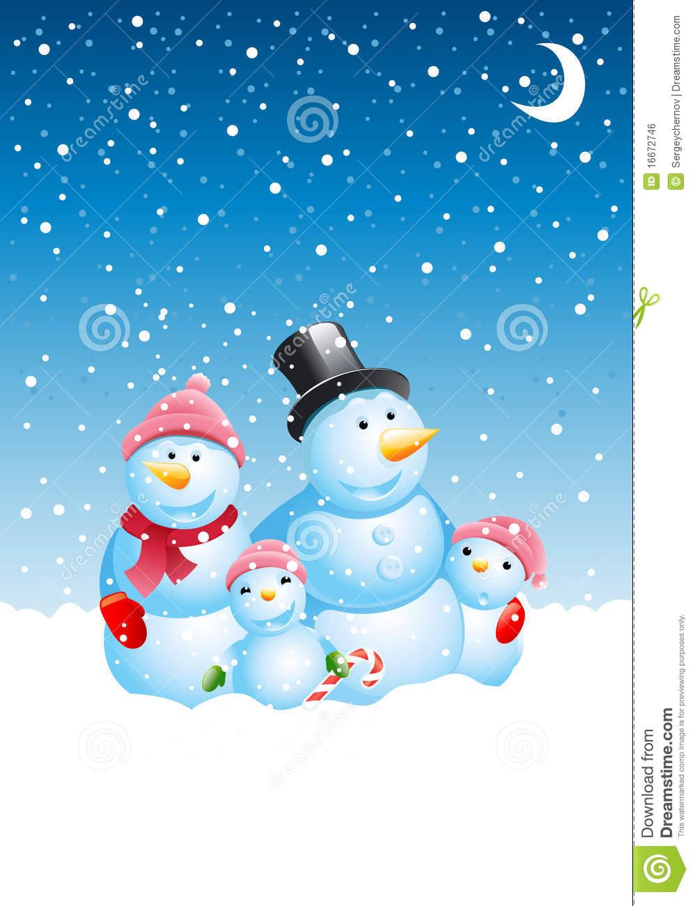 snowman family clip art free - photo #28