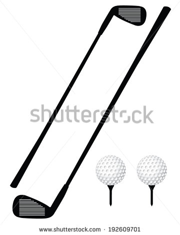 Golf ball silhouette png