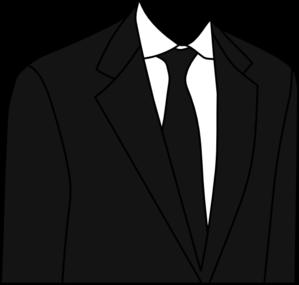Black Suit Clip Art At Clker Com   Vector Clip Art Online Royalty