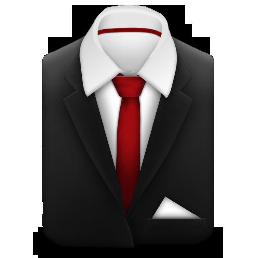 black suit red tie clipart clipart suggest